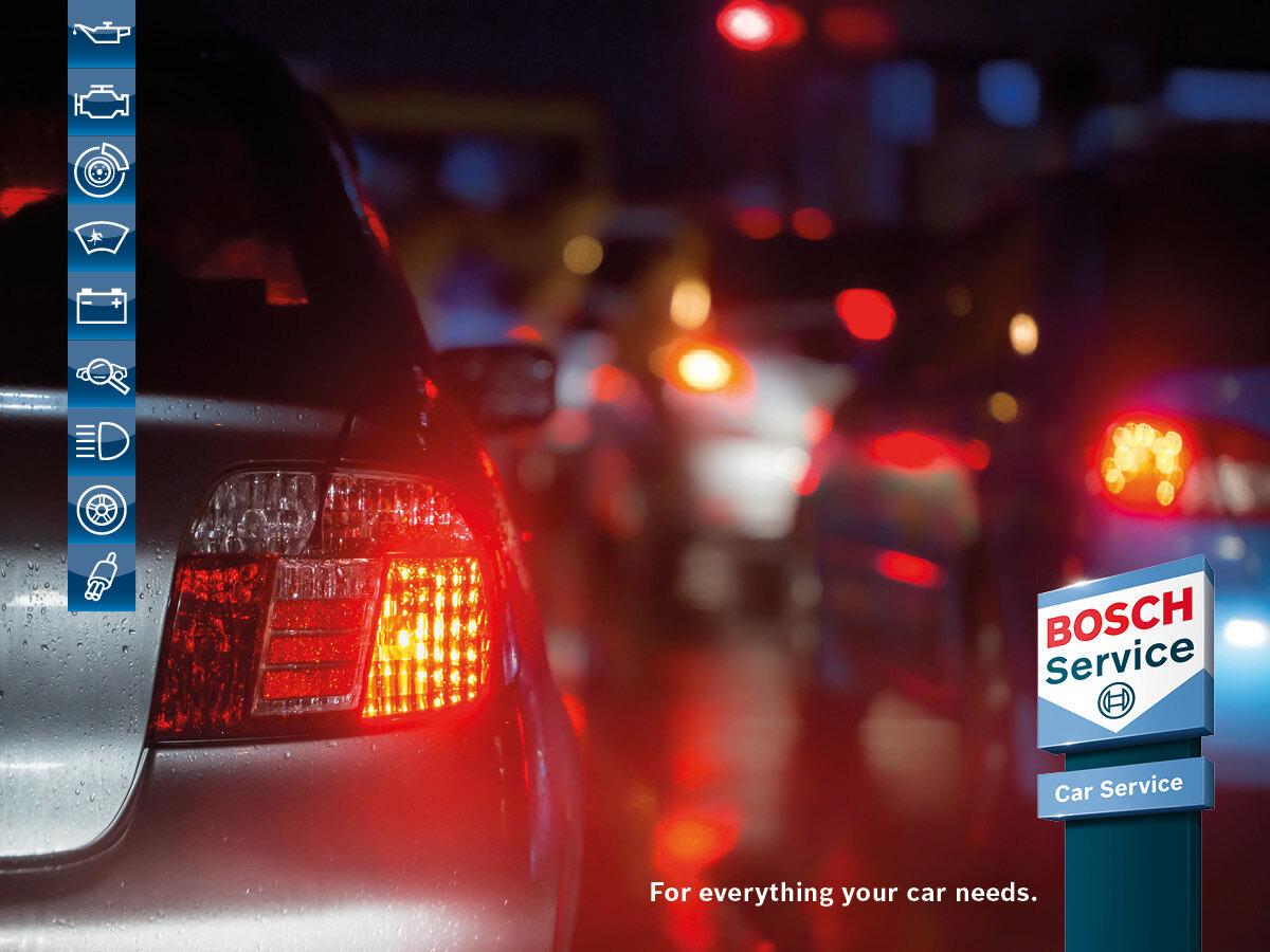 Custom video Bosch bakljus 2021